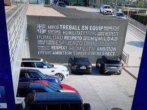 Il muro del Barcellona